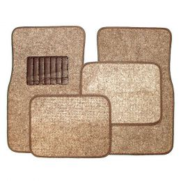Carpet Floor Mats (Color: Taupe)