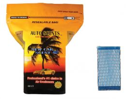 Air Freshener Pads (Scent: New Car Scent)