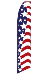 Swooper Banners - Auto Sales Slogans (Slogan: American Stars)